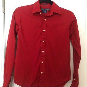 Size 4 Ralph Lauren Button Up Shirt